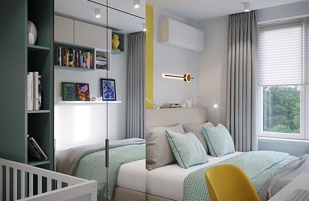 Проект спальной